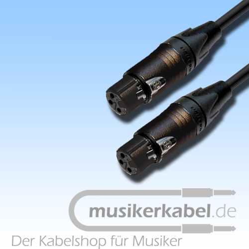 Musikerkabel.de R000271 Adapter XLR 3pol female, XLR 3pol female, 25cm